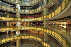 Shoppinggalleria Arkivfoto