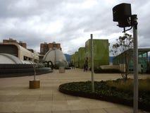 Shoppinggalleria i Bogota, Colombia. Arkivbild