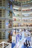 Shoppinggalleria i Petronas tvillingbröder Royaltyfria Bilder