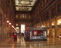 Shoppinggalleria i Rome Royaltyfri Foto