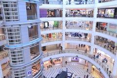 Shoppinggalleria Kuala Lumpur för SURIA KLCC Arkivbild