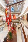 Shoppinggalleria Malaysia Arkivfoton
