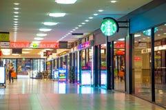 Shoppinggalleria Melbourne Arkivbilder