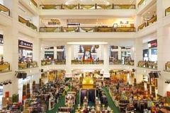 Shoppinggalleria på Kuala Lumpur Fotografering för Bildbyråer