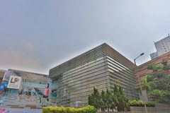 shoppinggalleria på Lok Fu kln hk arkivfoto
