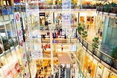 Shoppinggalleria Prague Arkivbild