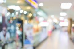 Shoppinggalleriavaruhus, bildsuddighet Royaltyfria Bilder