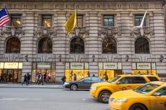 Shoppinggata på den 5th avenyn i NYC Fotografering för Bildbyråer