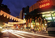 Shoppingkomplex för lott 10, Kuala Lumpur, Malaysia Arkivbilder