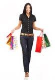 shoppingkvinna Royaltyfri Fotografi