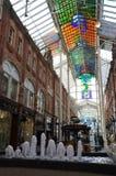 Shoppingmitt i Leeds arkivfoto