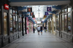 Shoppingmitt i Leeds Arkivfoton