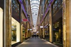 Shoppingmitt i Munich Fotografering för Bildbyråer