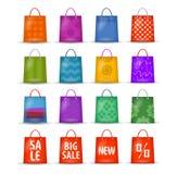 Shoppingpåsar vektor illustrationer