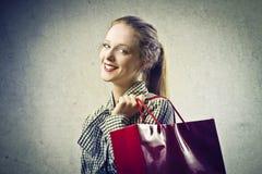 Shoppingpåse Royaltyfria Foton