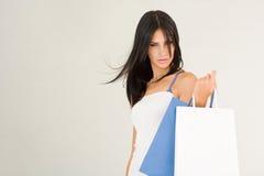 Shoppingskönhet. Royaltyfri Bild