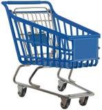 Shoppingsp?rvagnutklipp royaltyfria bilder