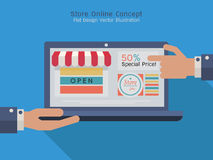 Shoppingstore2 Stock Image