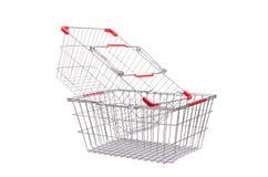 Shoppingsupermarketspårvagn Royaltyfri Bild
