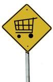 shoppingtecken Arkivbilder