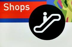 shoppingtecken Royaltyfri Bild