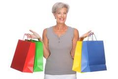 shoppingtid Arkivbilder