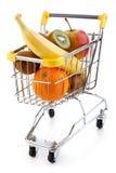 Shoppingtrolley Royaltyfria Bilder