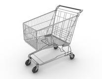 Shoppingvagn stock illustrationer