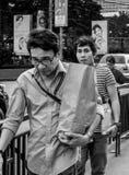 Shoppong del ultramarinos Fotografía de archivo