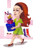 Shoppping Royalty Free Stock Photos