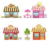 Shops Lizenzfreie Stockfotos
