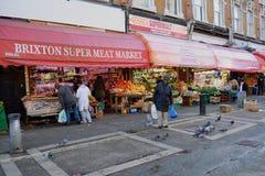 Shops in Brixton Lizenzfreies Stockbild