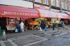 Shops in Brixton Royalty Free Stock Image