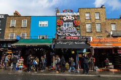 Shops and Buildings in Camden Town Stock Photo