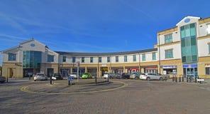 Shops Cambourne, Cambridgeshire Stockbilder