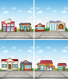 Shops Royalty Free Stock Photos