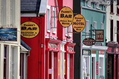 Shops  in Dingle Stock Photo