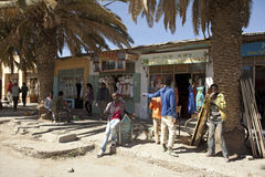 Shops in Ethiopia Stock Image