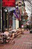 Shops an fällt Punkt, Baltimore, MD Stockbilder