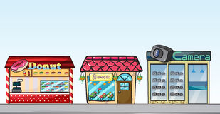 Shops Royalty Free Stock Photo
