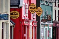Shops im Dingle Stockfoto