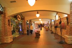 Shops in Ivano-Frankivsk Stock Photography