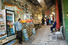 Shops in Jerusalem Stock Photos