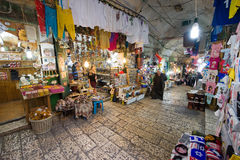Shops in Jerusalem Royalty Free Stock Images