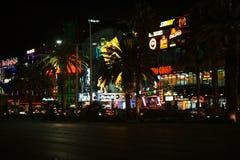Shops on the Las Vegas Boulevard Royalty Free Stock Photos
