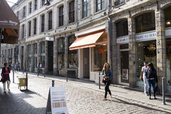 Shops in Lille Royalty Free Stock Photography