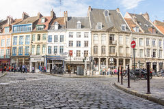 Shops in Lille Ville Stock Images