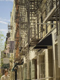 Fire Escapes, Lower East Side,  New York Stock Photo