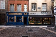 Shops in Lyon Stockbild