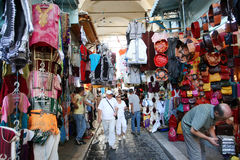 Shops in the medina Stock Photos